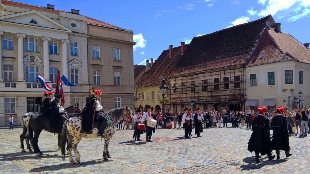 Zagreb, capitol of Croatia