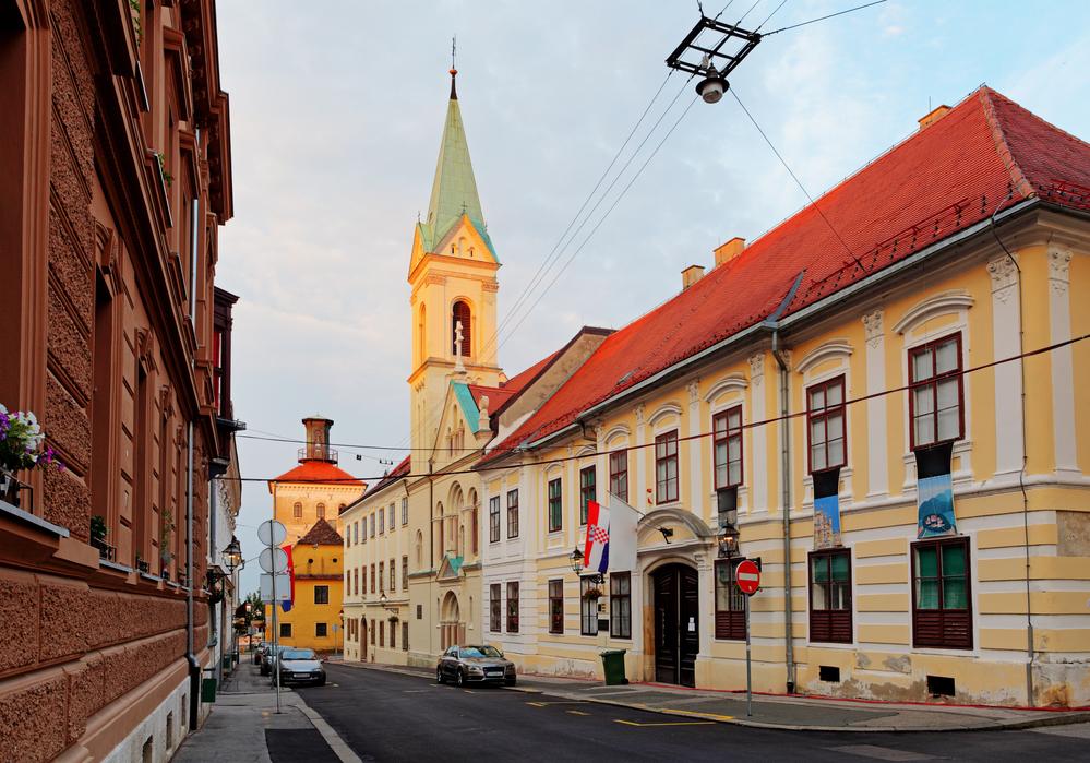 Street in Zagreb