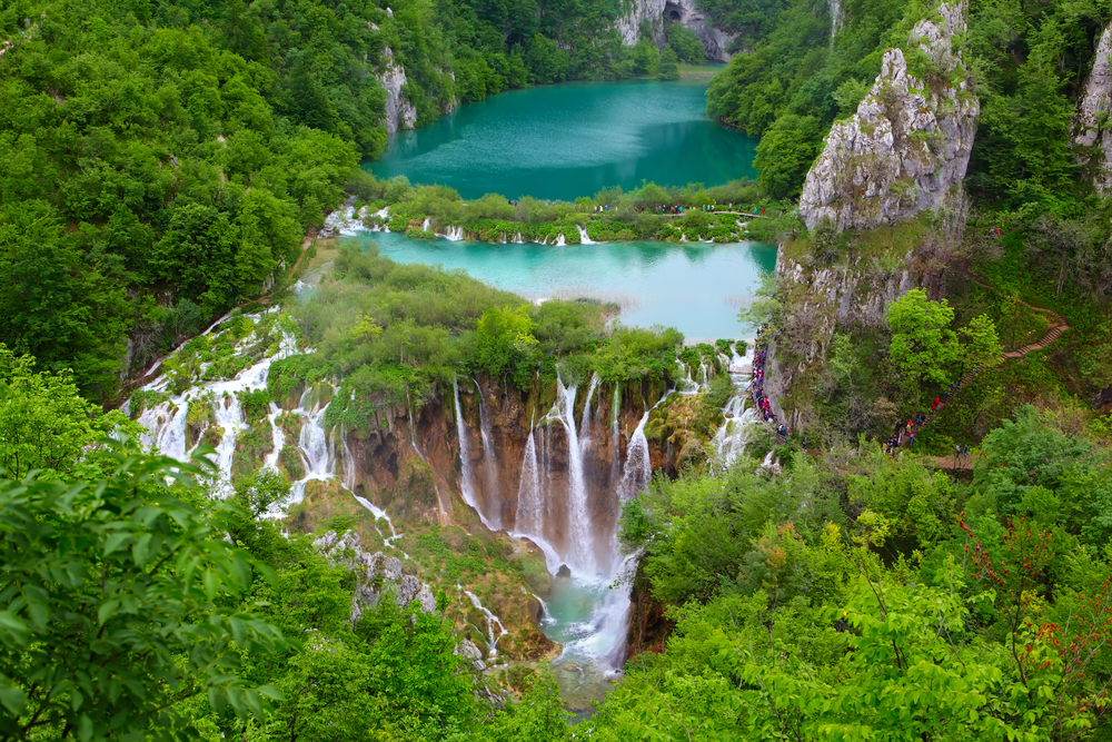 Plitvice Lakes National Park .Croatia